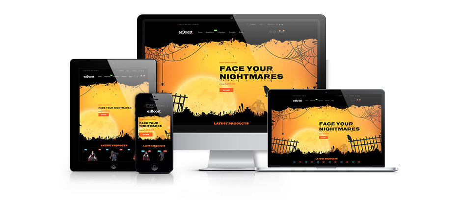 Halloween / free Shopify themes
