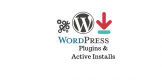 Active Installs WordPress Plugins