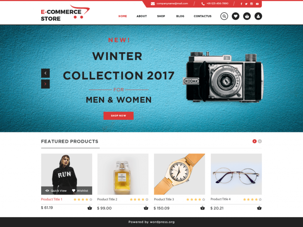 free WordPress themes for digital products