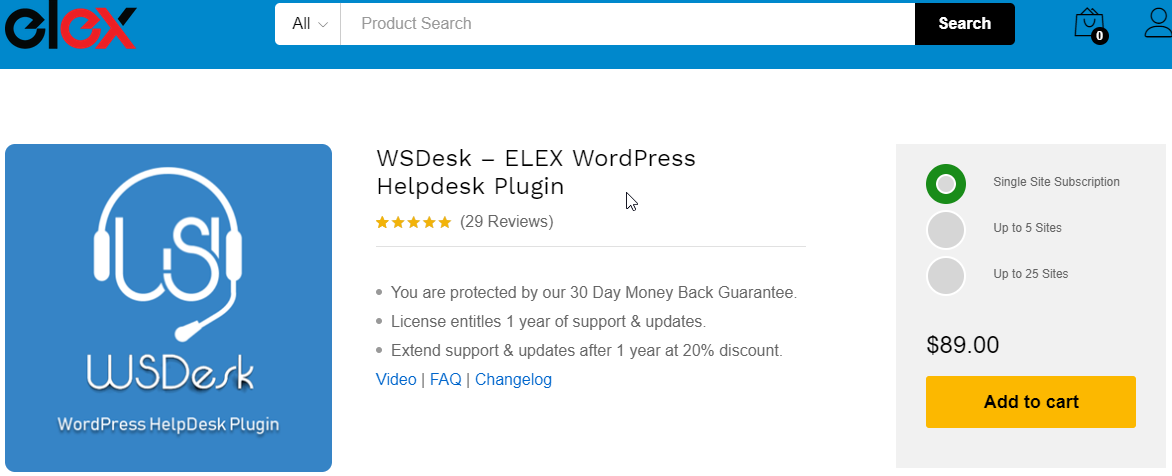 WS Desk | Best Premium WordPress Support Ticket Plugins