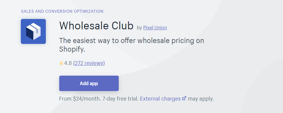Wholesale Club / Wholesale pricing apps