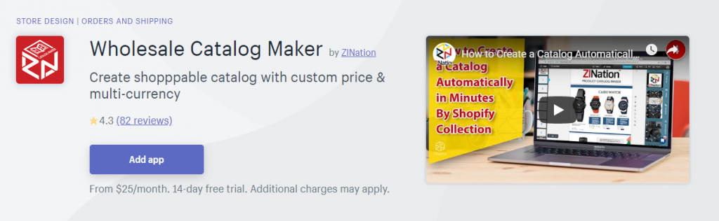 Wholesale catalog maker / wholesale pricing apps
