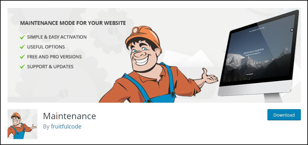 WordPress Maintenance Mode | Maintenance plugin