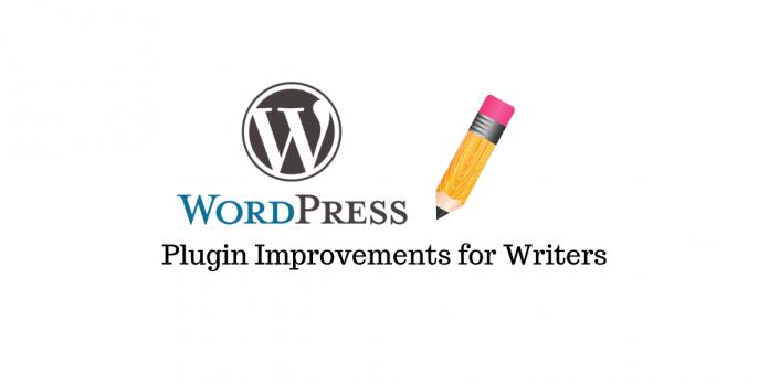 WordPress Plugins for Writers