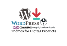free WordPress themes to sell digital products