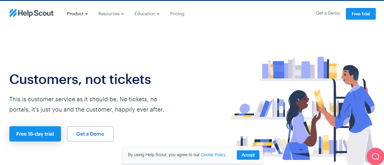 Helpscout helpdesk | WordPress ticket plugin