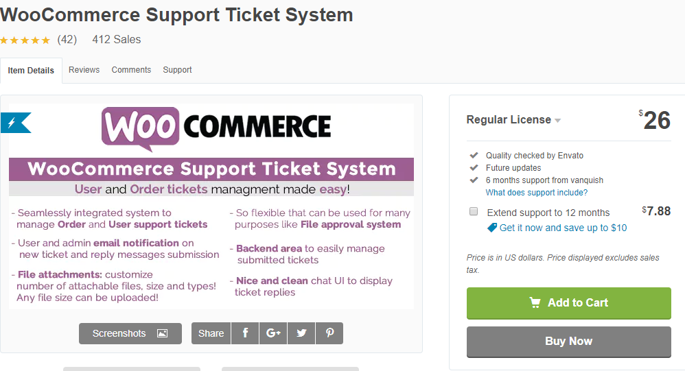 WooCommer Support Ticket system | WordPress Ticket Plugin