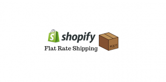 Configure Shopify Flat Rate Shipping