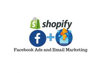 Facebook ads and email marketing