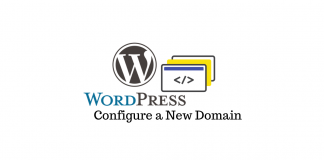 WordPress Site New Domain