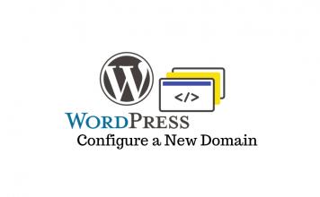 WordPress Site New Domain