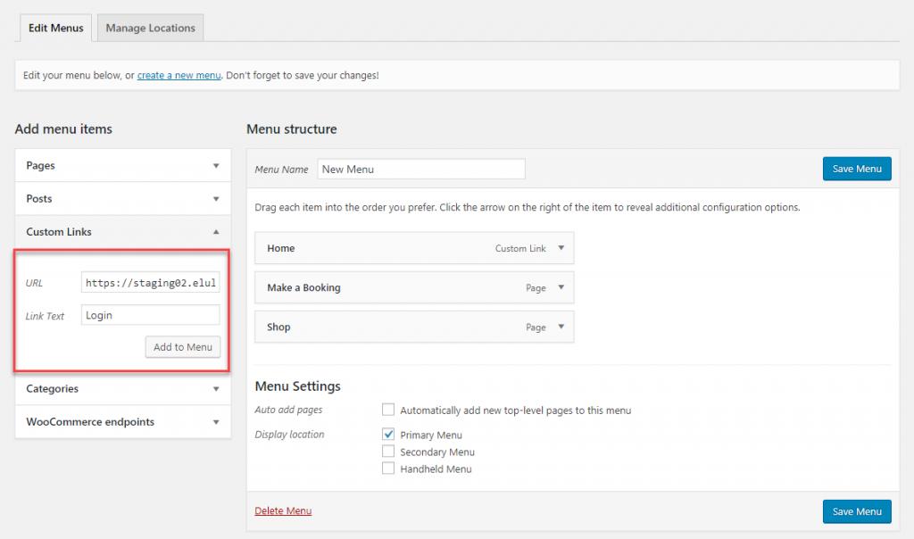 Login to your WordPress Admin
