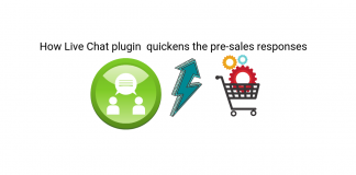 Pre-sale responses |live Chat Plugin