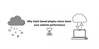 SaaS based plugin slows the performance || live chat plugin