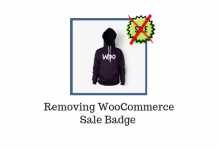 Remove WooCommerce Sale Badge | LearnWoo Blog Banner