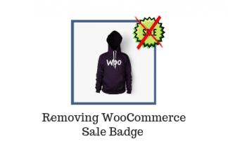 Remove WooCommerce Sale Badge | LearnWoo Blog Banner
