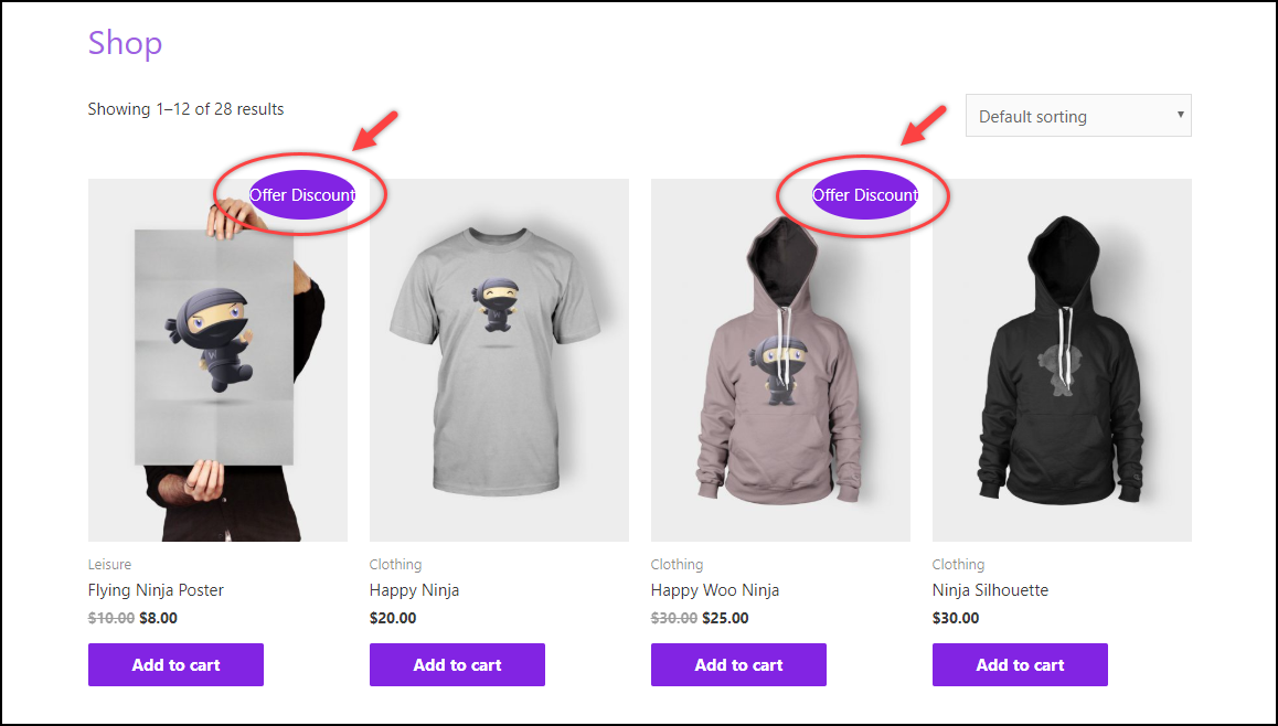 Remove WooCommerce Sale Badge | Sale Badge Text Changed