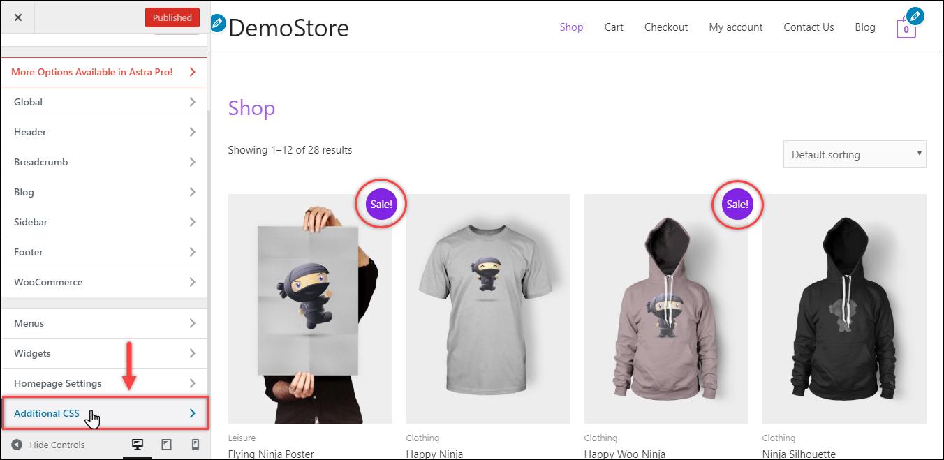 Remove WooCommerce Sale Badge | WordPress Additional CSS Setting