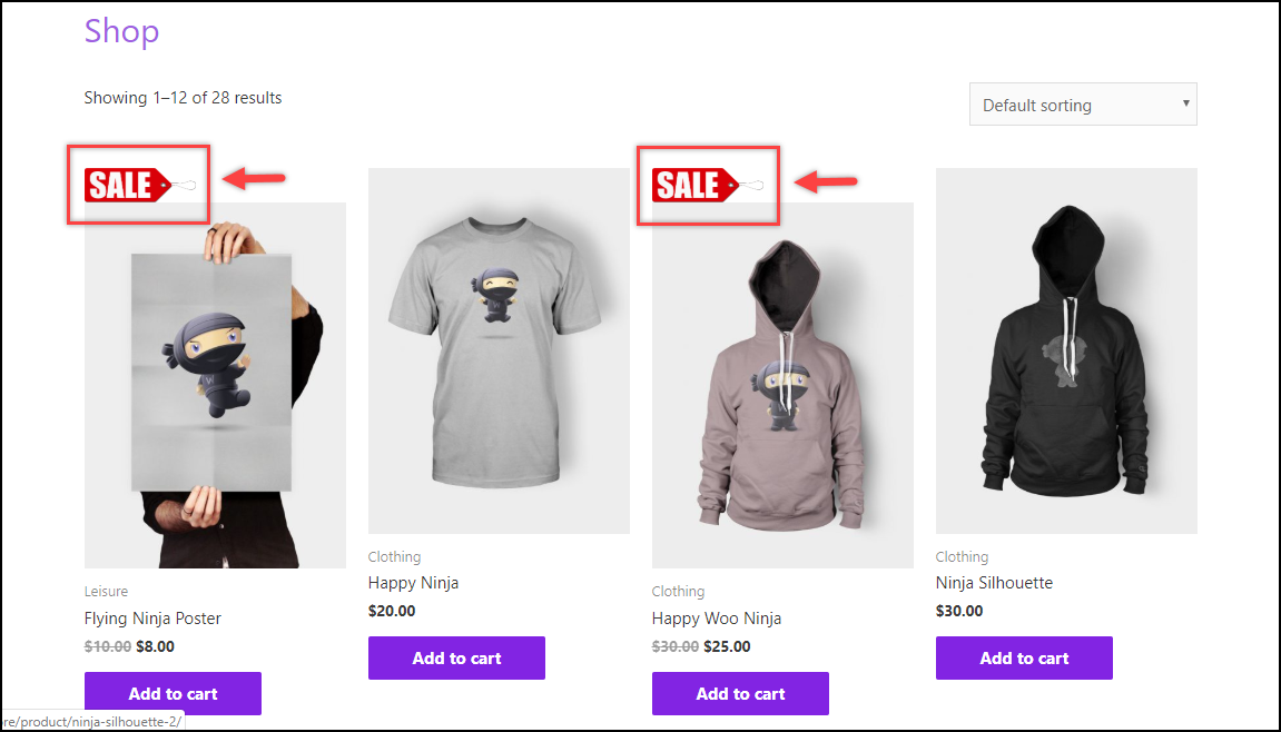 Remove WooCommerce Sale Badge | Image added for Sale Badge