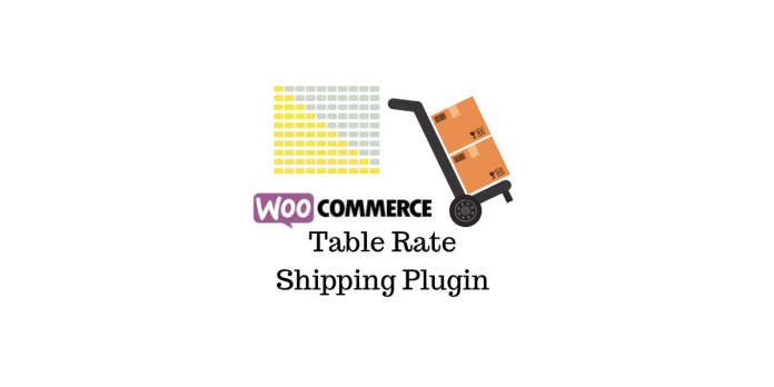 WooCommerce Table Rate Shipping Plugin