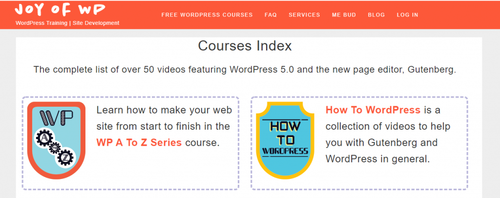 WordPress courses for beginners
