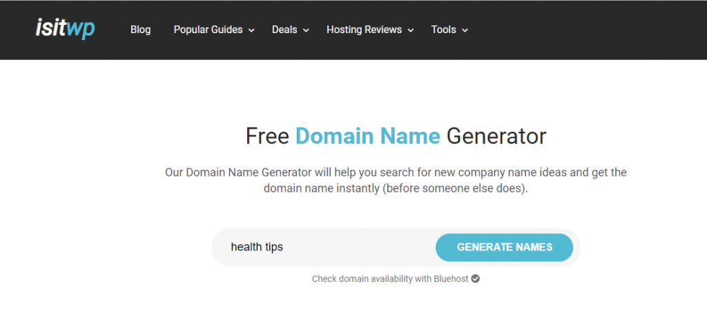domain name generators