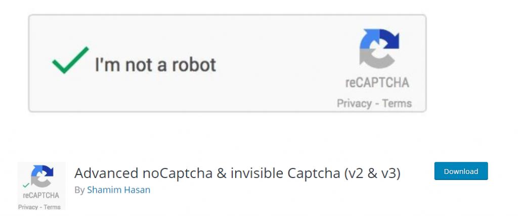 set up Google Captcha