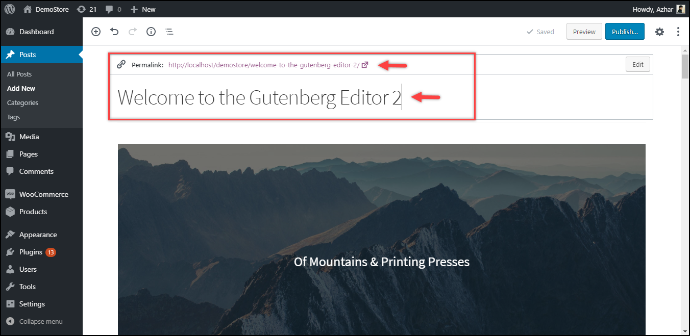 Duplicate a Page in WordPress | Duplicated post in the Gutenberg editor