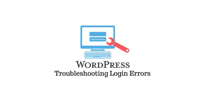 Troubleshoot common WordPress login errors