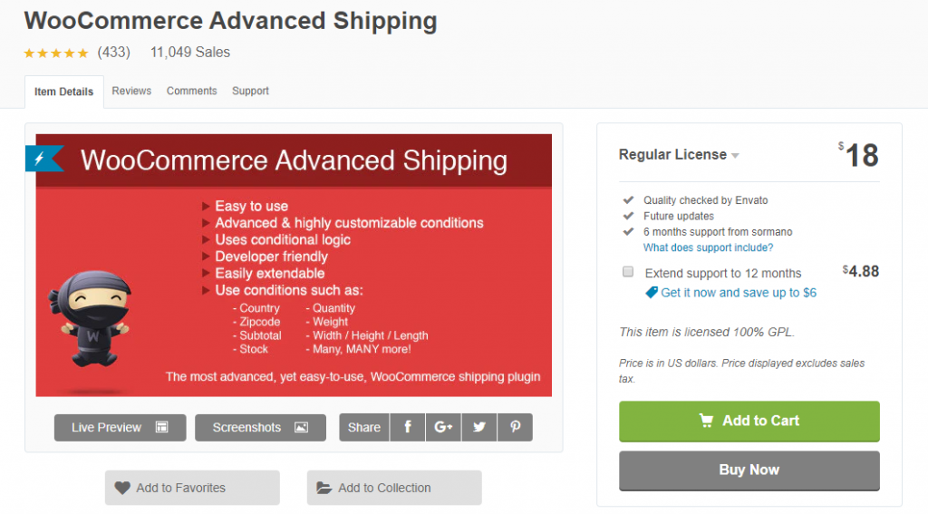 WooCommerce table rate shipping plugins