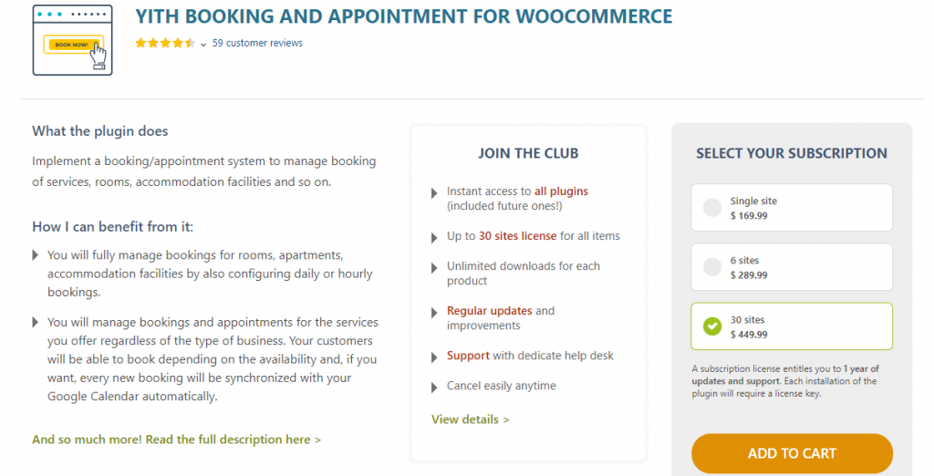 WooCommerce Booking Plugins