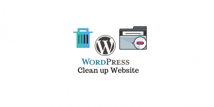 Clean up your WordPress site