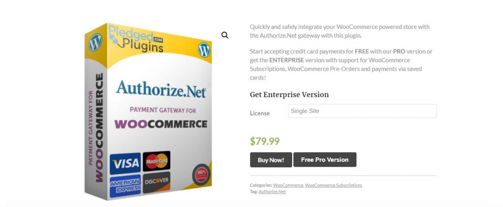 Best WooCommerce Authorize.net plugins.