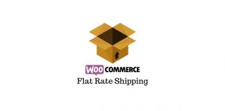 WooCommerce Flat rate shipping
