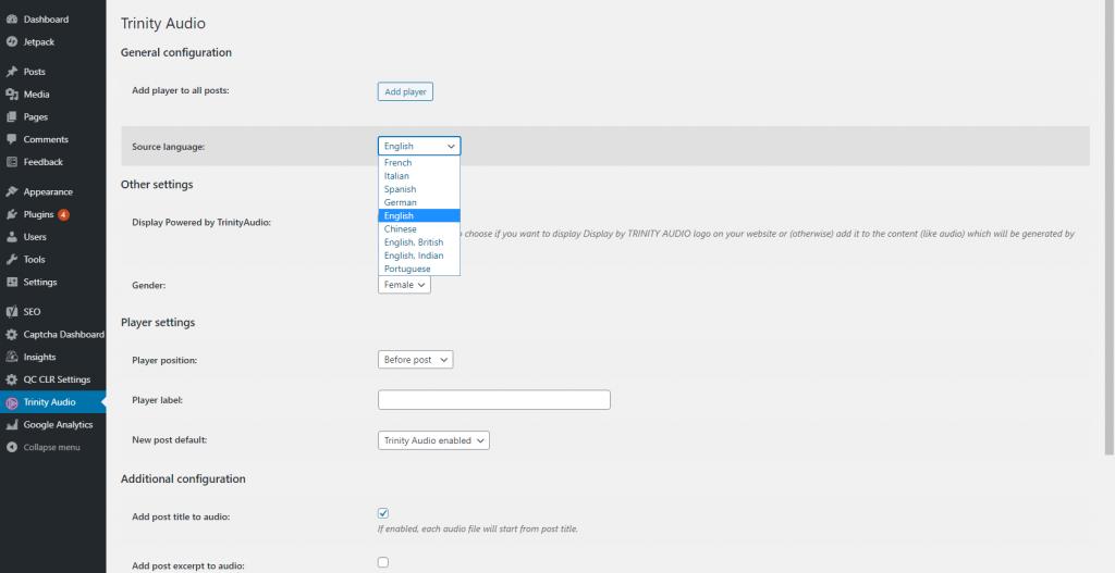 WordPress Text to Speech Plugin