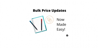 WooCommerce Bulk price updates