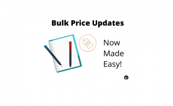 WooCommerce Bulk price updates
