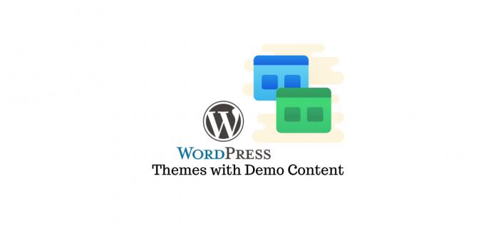 demo content