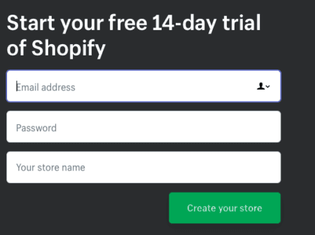 Get Started with Shopify