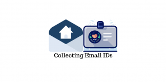 Collect Email addresses