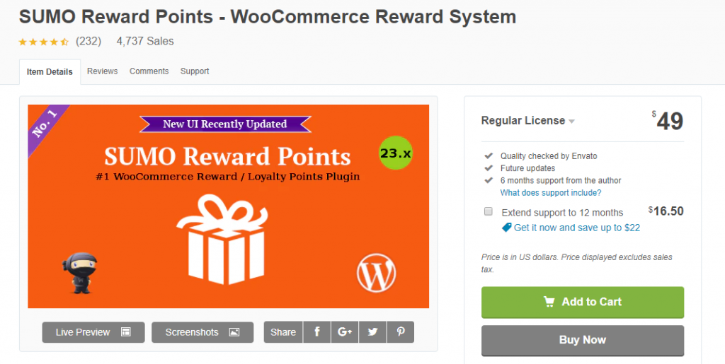 WooCommerce Points and Rewards Plugins