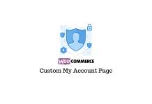 Custom My Account Dashboard Plugins for WooCommerce