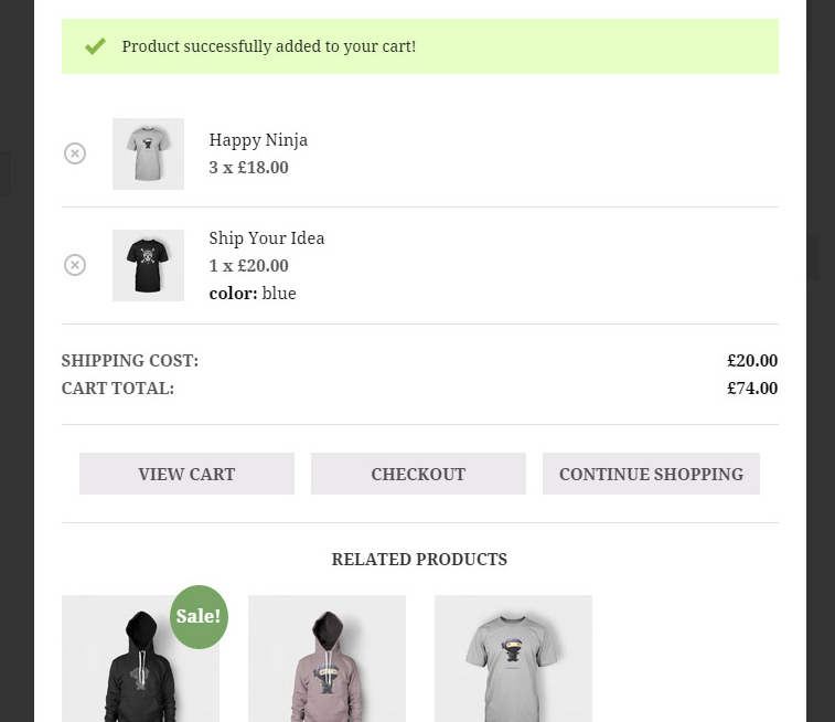 Best WooCommerce Mini Cart plugins