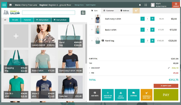WooCommerce Point of Sale (POS) plugins