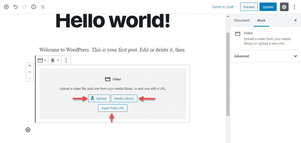 virtual classroom using WordPress