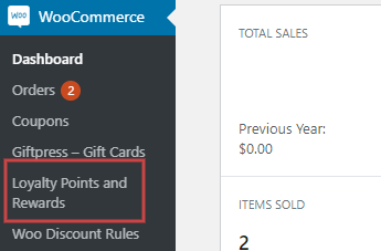 WooCommerce Loyalty Points
