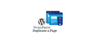 Duplicate a WordPress page