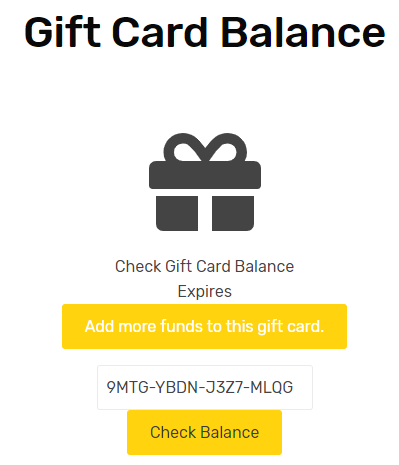 Sell WooCommerce Gift Cards