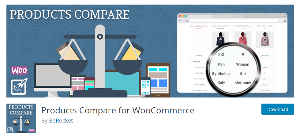 WooCommerce product compare plugins
