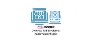 Generate PDF Invoices in WooCommerce Multi Vendor Store